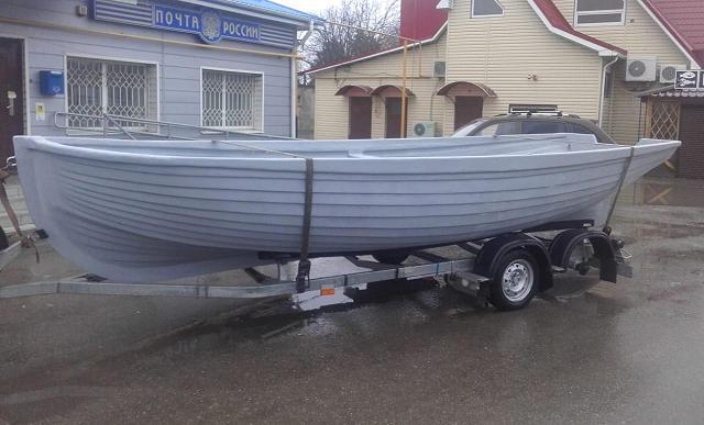 Лодка НОВО-610 ЯЛ6