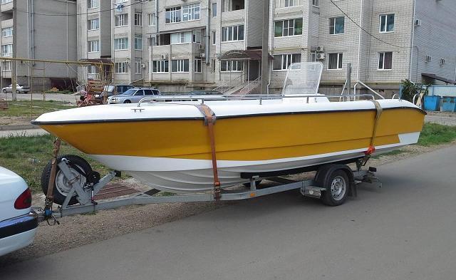 Лодка НОВО-640
